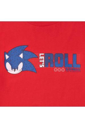 Men T-shirts - Sonic The Hedgehog Lets Roll Men's T-Shirt
