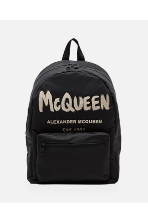 Alexander McQueen Men Accessories - METROPOLITAN NYLON BACKPAC size One Size