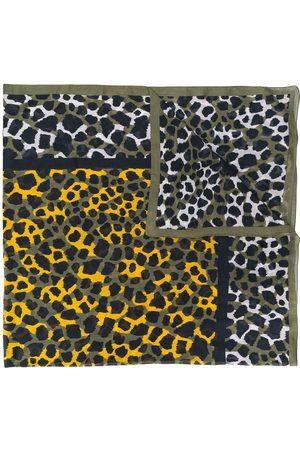Yves Saint Laurent Pre-Owned 1990's animal print scarf