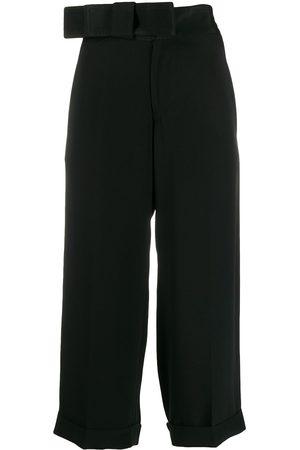 Yohji Yamamoto Pre-Owned Women Trousers - 1990s ribbon waist trousers
