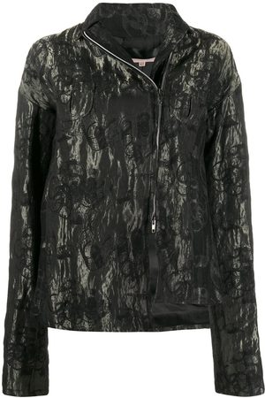 Romeo Gigli Pre-Owned Women Jackets - 1990s floral metallic jacket