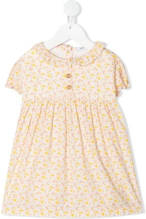 KNOT Baby Printed Dresses - Floral-print dress - Neutrals