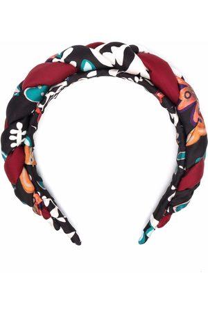 La DoubleJ Rapunzel mix-print headband
