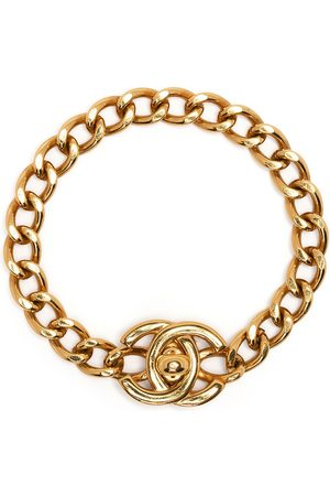 CHANEL Women Bracelets - 1996 CC turn-lock bracelet