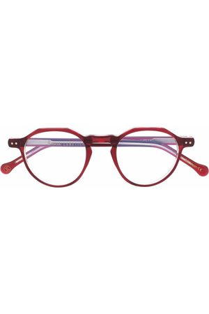 LESCA Icon 36 round-frame glasses