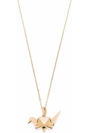 Aurelie Bidermann Women Necklaces - 18k yellow Origami diamond necklace