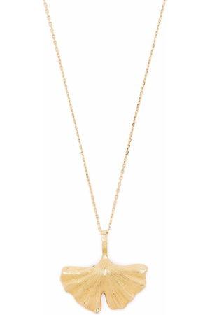 Aurelie Bidermann Women Necklaces - 18kt yellow Ginkgo necklace