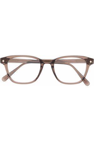 BRIONI Men Sunglasses - Transparent square glass frames
