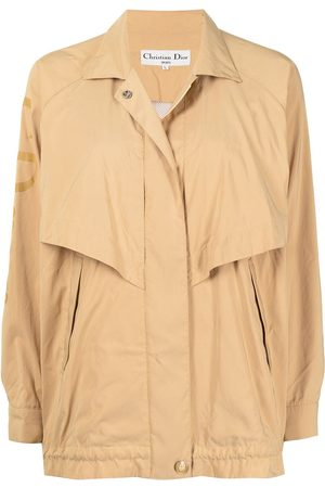 Christian Dior 1990s pre-owned front flaps jacket - Neutrals