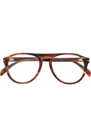 DB EYEWEAR BY DAVID BECKHAM Men Sunglasses - Tortoiseshell-effect tinted sunglasses