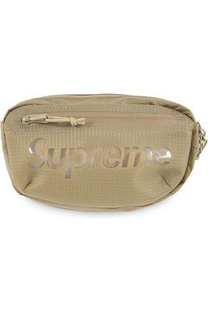 Supreme Logo-print belt bag - Neutrals