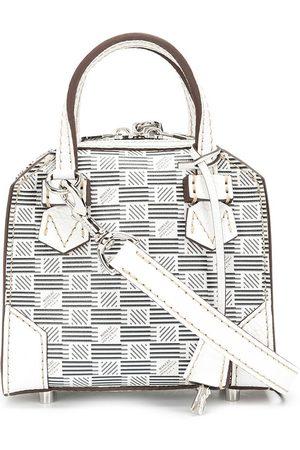MOREAU Women Handbags - Bregancon jacquard leather tote bag