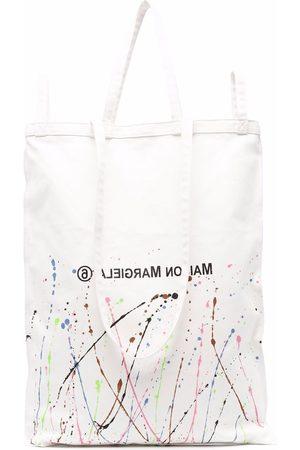 MM6 MAISON MARGIELA Oversized logo tote bag