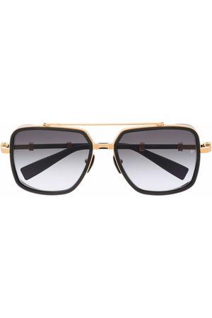 Balmain Gradient-frames aviator sunglasses