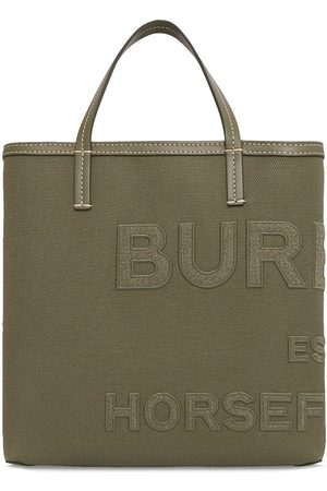 Burberry Horseferry linen tote bag