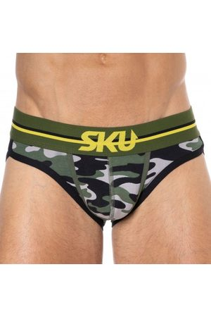 SKU Bottomless Brief First - Camouflage S