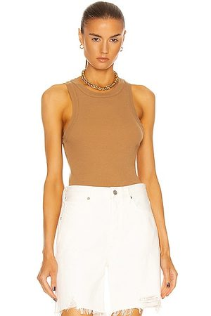 Citizens of Humanity Isabel Rib Tank in Brulee