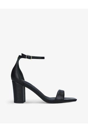 Carvela Women Heels - Second Skin faux-leather heeled sandals