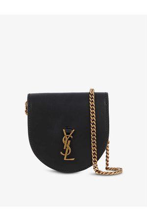 Saint Laurent Women Purses & Wallets - Kaia Baby leather cross-body purse bag