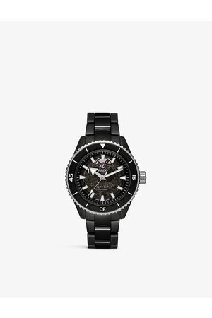 Rado R32127152 Captain Cook High-Tech ceramic and stainless-steel watch