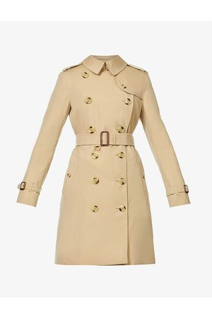 Burberry Kensington double-breasted cotton trench coat