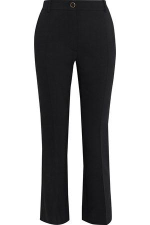 VALENTINO Woman Wool-blend Crepe Bootcut Pants Size 10