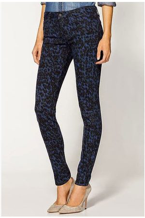 Joes Jeans The Skinny - Painter Leopard