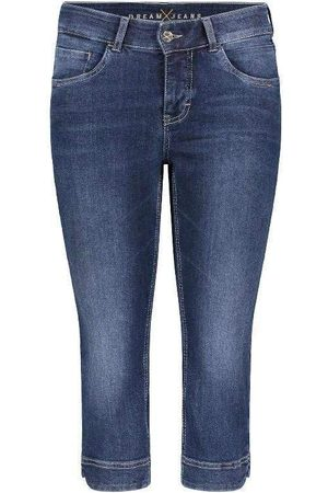 Mac Mac Dream Capri Cropped Jeans 5469 0355 D853 Dark Used Denim N