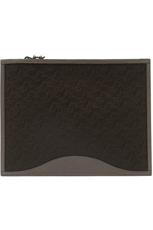 Christian Louboutin Pifpouch Grained-leather Zip Pouch - Mens