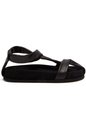 NEOUS Proxima Leather Flat Sandals - Womens