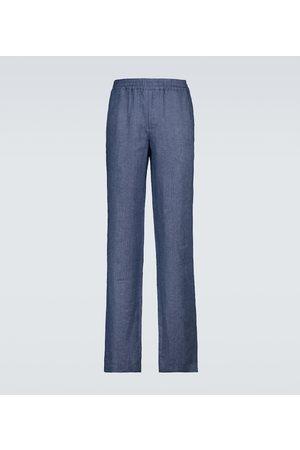 Loro Piana Arizona Solaire linen drawstring pants