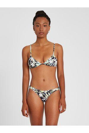 Volcom Women's Off Tropic Triangle Bikini Top - Multi