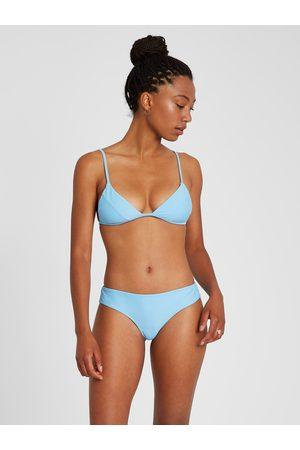 Volcom Women Bikinis - Women's Simply Solid Triangle Bikini Top - Coastal