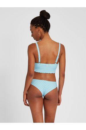 Volcom Women Bikinis - Women's Next In Line Cheekini Bikini Bottom - Coastal