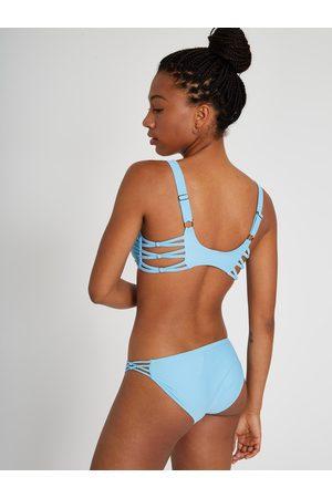 Volcom Women Bikinis - Women's Simply Solid Full Bikini Bottom - Coastal