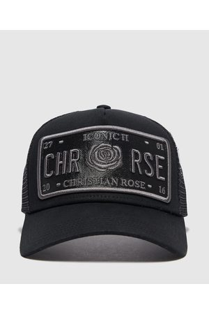 Christian Rose Men's Iconic Vinyl Cap