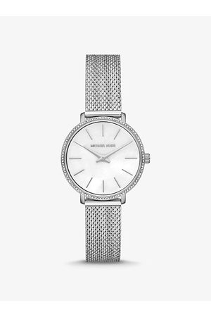 Michael Kors MK Mini Pyper Pavé -Tone Watch