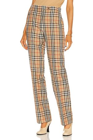 Burberry Fleur Tailored Pant in Archive IP Check