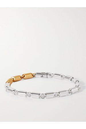 Le Gramme 27g Sterling and 18-Karat Gold Cable Bracelet