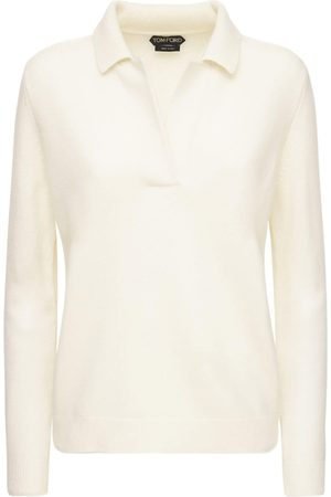 Tom Ford Women Jumpers - Wool Blend Knit Sweater