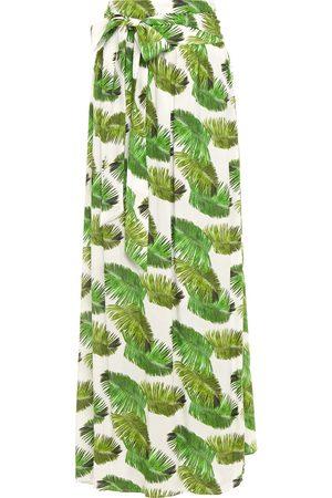 Melissa Odabash Woman Elsa Wrap-effect Voile Maxi Skirt Size L
