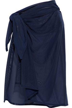 JETS Women Beachwear - Woman Stretch-mesh Pareo Navy Size M/L