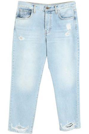..,MERCI Women Trousers - DENIM - Denim trousers