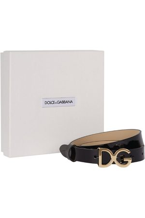 Dolce & Gabbana Kids Leather DGLOGO Belt