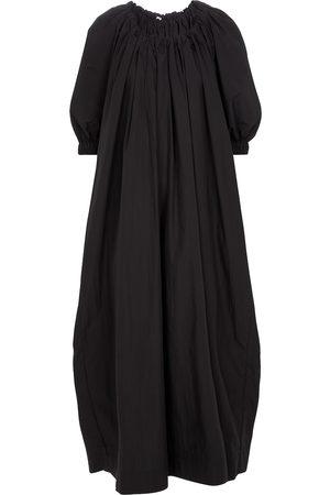 CO Tton-blend maxi dress