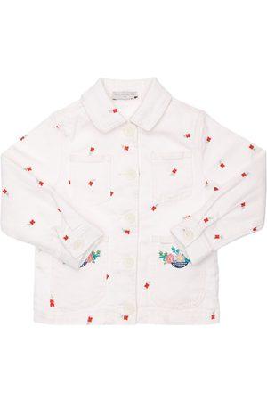 Stella McCartney Embroidered Organic Cotton Denim Jacket
