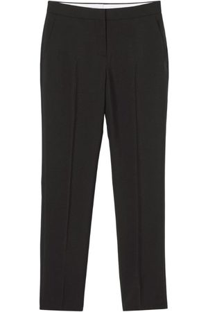 Burberry Women Formal Trousers - Mohair-Wool Tailored Trousers