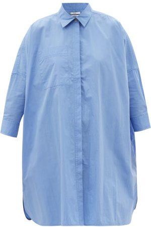 CO Longline tton-blend Poplin Shirt - Womens