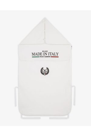 Dolce & Gabbana Boys Sports Tops - Accessories and Baby Carriers - Jersey sleep sack with Made in Italy print male OneSize