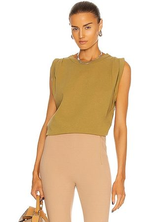 Citizens of Humanity Jordana Rolled Sleeve Tee in Sunbaked